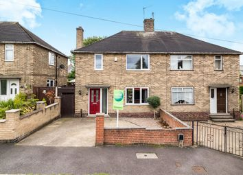 Thumbnail 3 bedroom semi-detached house for sale in Murby Crescent, Bulwell, Nottingham