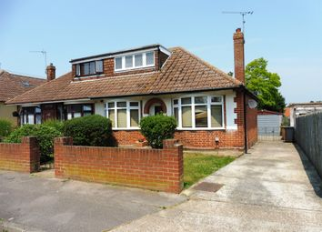 Thumbnail 2 bedroom semi-detached bungalow for sale in Brockley Crescent, Ipswich