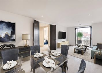 Thumbnail 2 bed flat for sale in Boat Race House, Mortlake High Street, London
