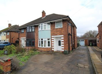 Thumbnail 3 bed semi-detached house for sale in Amberley Avenue, Bulkington, Bedworth