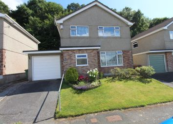 Thumbnail 3 bed detached house for sale in Greenhill Close, Plymstock, Plymouth.