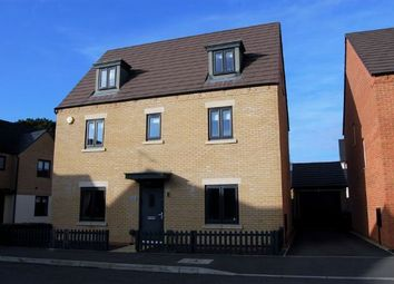 Thumbnail 5 bedroom detached house for sale in Bronte Close, Marina Park, Northampton