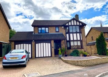 Thumbnail 4 bed detached house for sale in Heritage Way, Raunds, Wellingborough