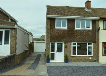 Thumbnail 3 bed semi-detached house for sale in Maes Y Coed, Swansea