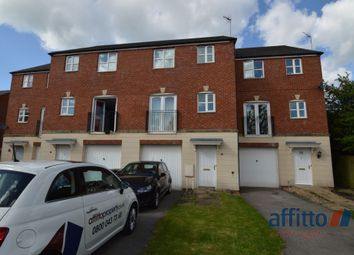 Thumbnail 3 bed town house for sale in All Saints Close, Coalville