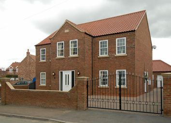 Thumbnail 4 bed detached house to rent in Low Cross Street, Crowle, Scunthorpe