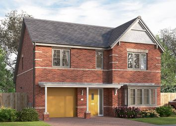 "Thumbnail 4 bed detached house for sale in ""The Overbury"" at Longwall Road, Pontefract"