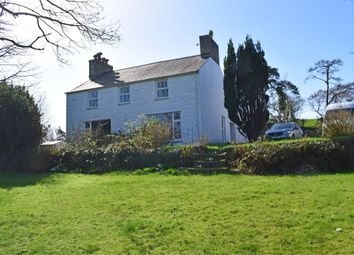 Thumbnail 4 bed detached house for sale in Penrhos, Penrhos, Pwllheli, Gwynedd