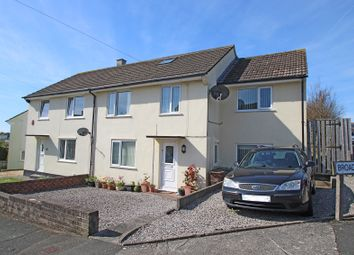 Thumbnail 4 bed semi-detached house for sale in Stentaway Drive, Plymstock, Plymouth, Devon