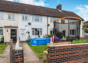 Thumbnail 3 bed terraced house for sale in Ash Walk, Stradishall, Newmarket