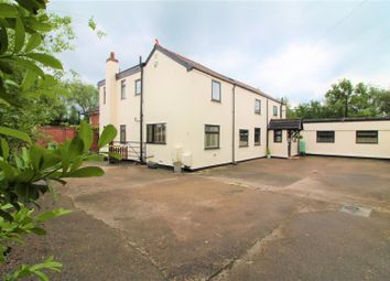 Thumbnail 4 bed detached house for sale in Holt Road, Cross Lanes, Wrexham