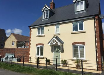 Thumbnail 5 bed detached house to rent in Prospero Way, Swindon, Wiltshire