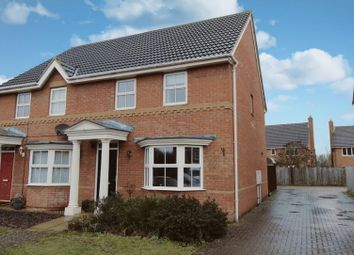 Thumbnail 3 bed semi-detached house for sale in Halesowen Drive, Bedford