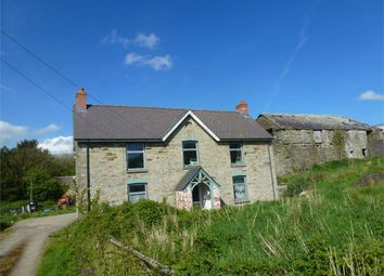 Thumbnail 6 bed detached house for sale in Pantgwyn Farm, Llangoedmor, Cardigan, Ceredigion