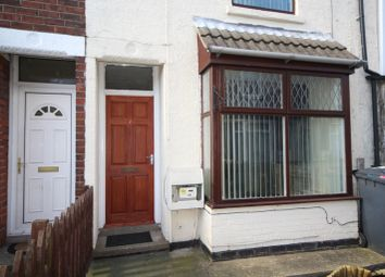 Thumbnail 2 bedroom terraced house to rent in Victoria Avenue, Rustenburg Street, Hull
