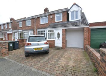 Thumbnail 4 bed semi-detached house for sale in Allendale Avenue, Wallsend