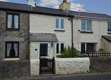 Thumbnail 1 bed terraced house for sale in Symons Row, St. Cleer, Liskeard, Cornwall