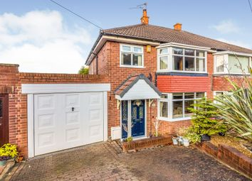 Thumbnail 3 bed semi-detached house for sale in Athron Drive, Rotherham