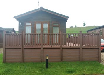 Thumbnail 2 bed lodge for sale in Badgers Retreat Park, North Yorkshire