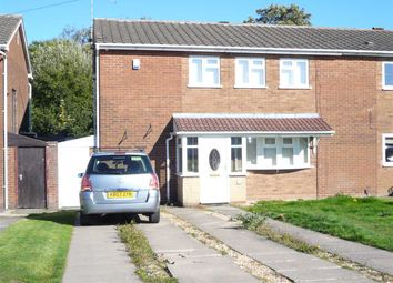 Thumbnail 4 bed semi-detached house for sale in Ecclestone Road, Ashmore Park, Wednesfield