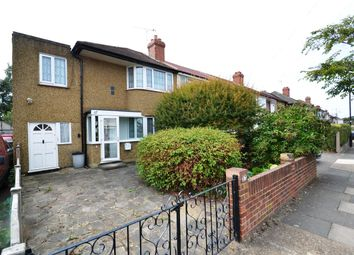 Thumbnail 3 bed end terrace house for sale in Longford Avenue, Feltham