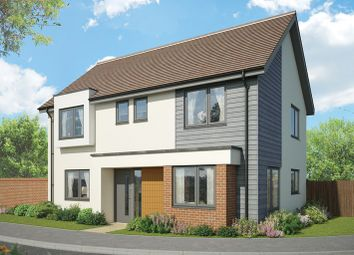 Thumbnail 4 bed detached house for sale in Cupernham Lane, Romsey Hampshire