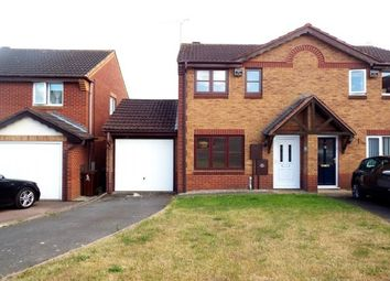 Thumbnail 2 bed semi-detached house to rent in Fuchsia Drive, Pendeford, Wolverhampton