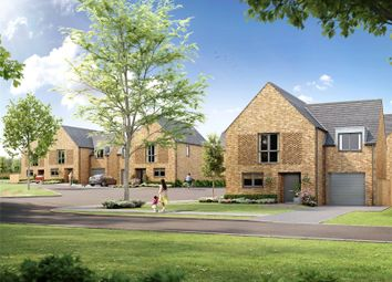 Thumbnail 4 bed semi-detached house for sale in Theobald, Trig Point, Stevenage, Hertfordshire