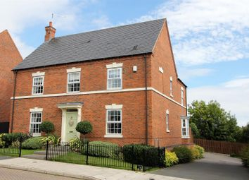 Thumbnail 4 bed detached house for sale in Sweet Leys Way, Melbourne, Derby