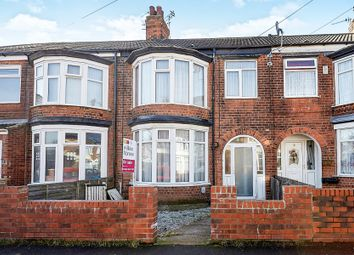 Thumbnail 3 bedroom terraced house for sale in Claremont Avenue, Beverley Road, Hull