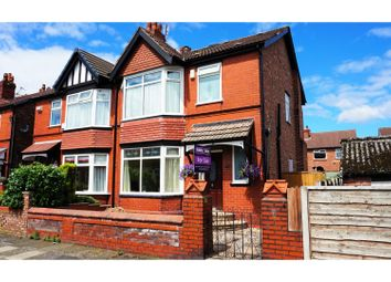 Thumbnail 3 bed semi-detached house for sale in Bryn Drive, Reddish, Stockport