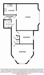 Thumbnail 2 bed flat to rent in Flat 8, Kentisknowle Kents Road