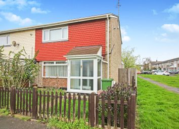 Thumbnail 2 bed end terrace house for sale in Alderney Gardens, Wickford