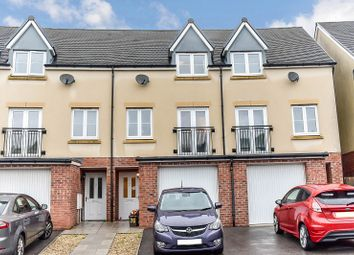 Thumbnail 4 bed town house for sale in Wood Green, Cefn Glas, Bridgend .