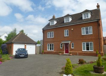 Thumbnail 5 bed detached house for sale in Ellen Close, Charing, Ashford
