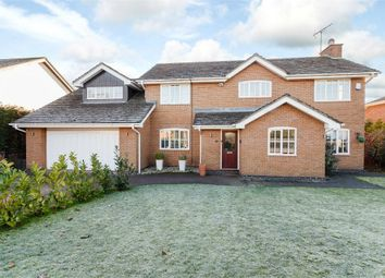 Thumbnail 4 bedroom detached house for sale in Prestwick Close, Macclesfield, Cheshire