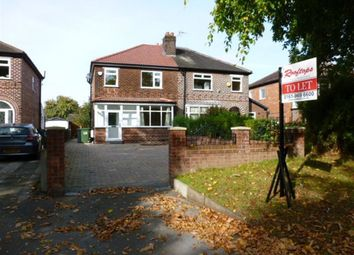 Thumbnail 3 bed property to rent in Manor Avenue, Sale, 5Jg.