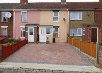 Thumbnail 3 bed terraced house for sale in Eastern Way, Lowestoft