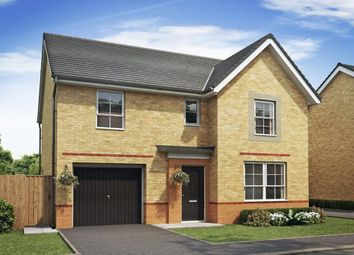 "Thumbnail 4 bed detached house for sale in ""Ripon"" at Moss Lane, Macclesfield"