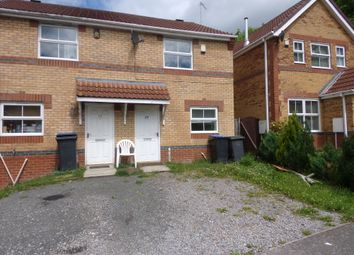 Thumbnail 2 bed terraced house to rent in Manor Close, The Grove, Consett