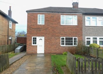 Thumbnail 3 bed semi-detached house for sale in Little Lane, South Elmsall, Pontefract