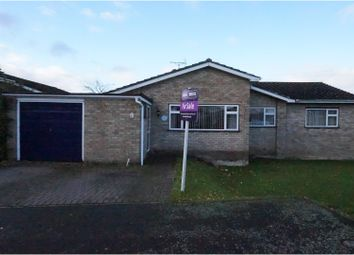 Thumbnail 4 bedroom detached bungalow for sale in Brittons Road, Barrow, Bury St. Edmunds