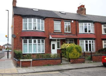 Thumbnail 3 bedroom end terrace house for sale in Lambeth Road, Middlesbrough
