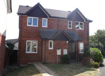 Thumbnail 2 bed semi-detached house to rent in Manor View, Par, Cornwall