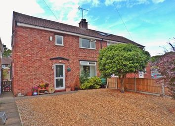 Thumbnail 3 bed semi-detached house for sale in Mere Crescent, Northwich, Cheshire