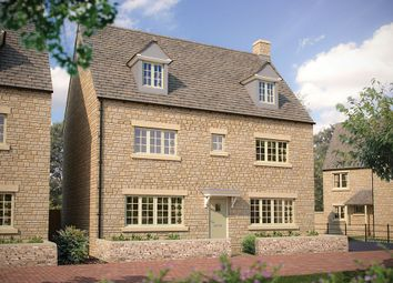 "Thumbnail 5 bed detached house for sale in ""The Stratford"" at Cinder Lane, Fairford"