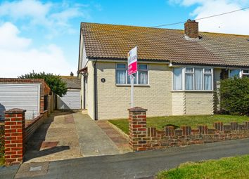 Thumbnail 2 bed semi-detached bungalow for sale in Highview Road, Telscombe Cliffs, Peacehaven