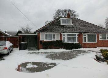 Thumbnail 2 bed semi-detached bungalow for sale in Corbett Road, Hollywood, Birmingham
