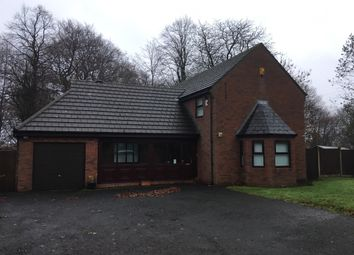 Thumbnail 4 bed detached house to rent in Rectory Road, Ashton In Makerfield
