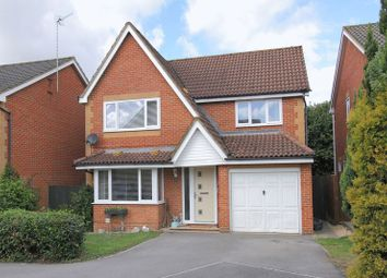 Thumbnail 4 bed detached house for sale in Flint Close, Andover
